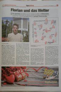 """Bericht in der """"Tageszeitung"""""""