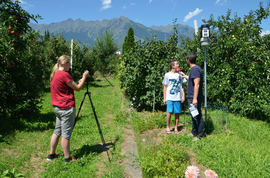 Interview durch Daniel Rainer von Südtirol1