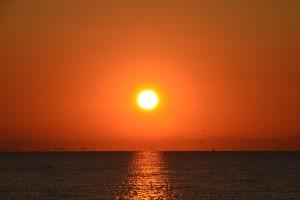 Caorle Sonnenaufgang August 2013