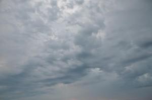 Caorle Wolken August 2013