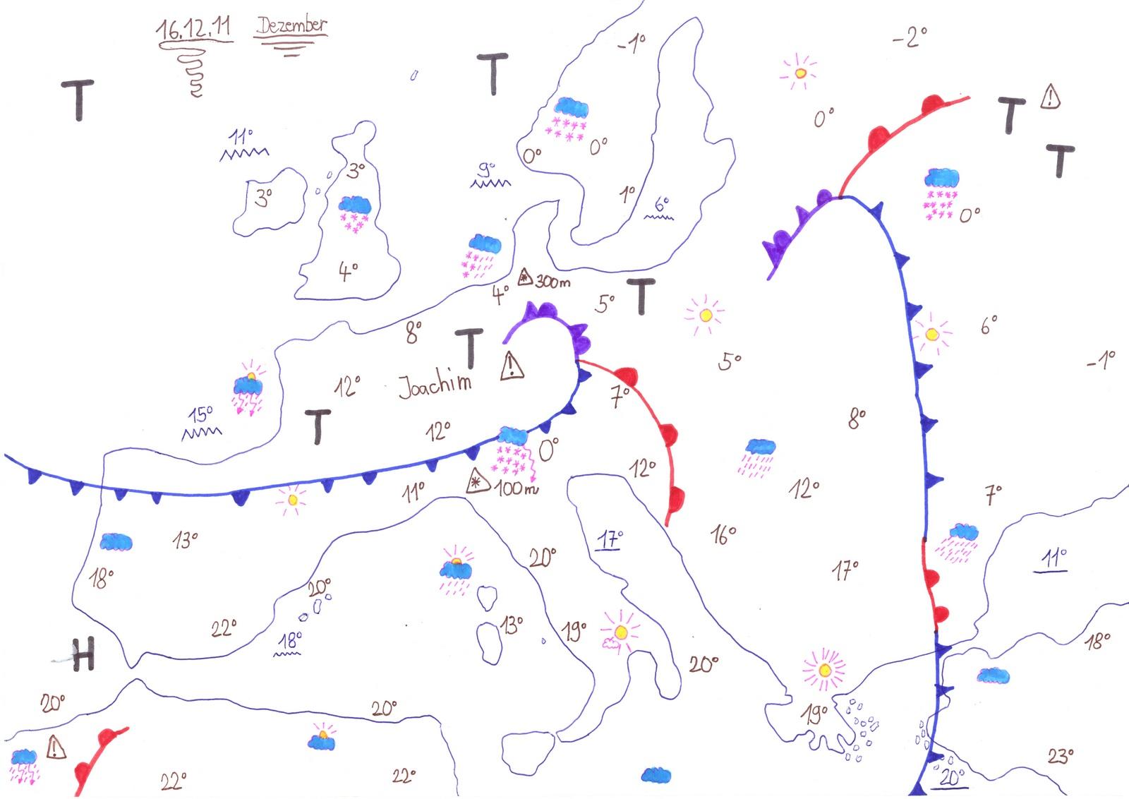 Eigene Wetterberichte - Florians Wetterseite
