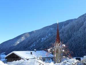 Schnee im Ultental